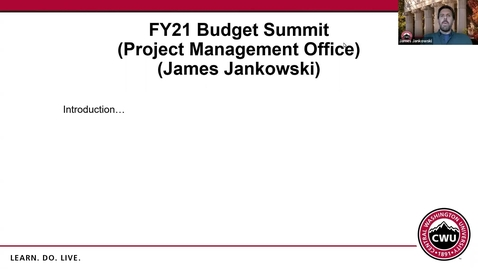 Thumbnail for entry PMO Budget Request