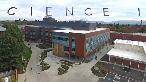 Thumbnail for entry New Science Building at CWU
