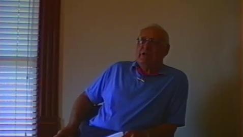 Thumbnail for entry Paul Bechtel Video Interview, part 3