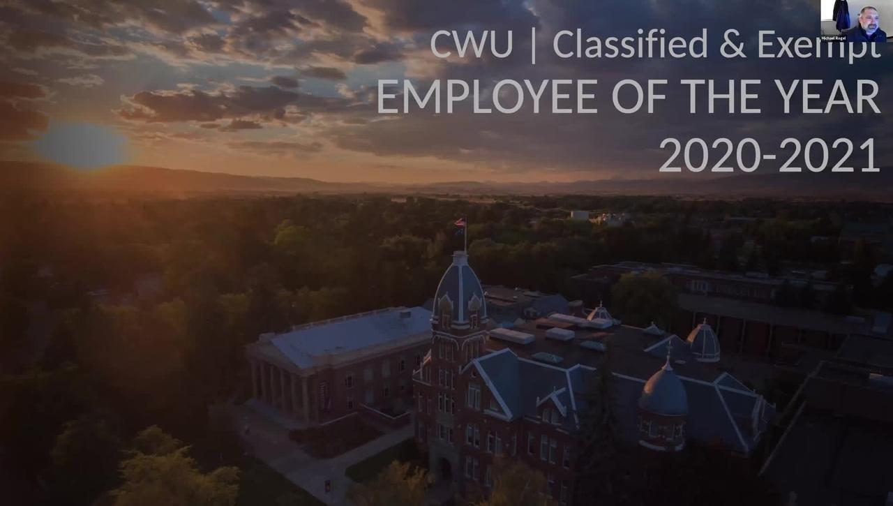 Employee of the Year Award Presentation 2021