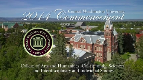 Thumbnail for entry Central Washington University Commencement 2014 PM