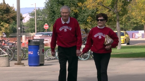 Thumbnail for entry Brooks Family Donates New Benches at CWU