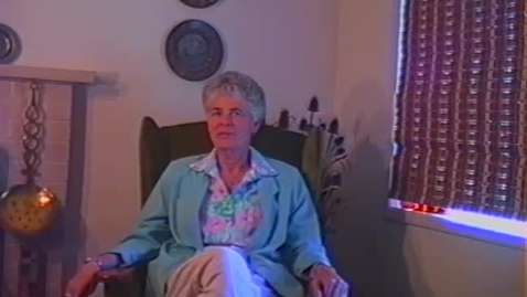 Thumbnail for entry Jean Putnam Video Interview, part 1