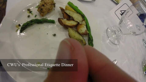 Thumbnail for entry Professional Etiquette Dinner