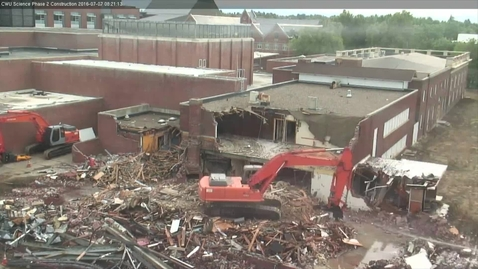 Thumbnail for entry Samuelson Time-Lapse Demolition