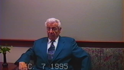 Thumbnail for entry Eldon Jacobson Video Interview, part 1