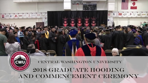 Thumbnail for entry 2018 Graduate Hooding and Commencement Ceremony
