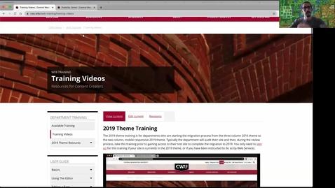 Thumbnail for entry Web Training: Basic Training