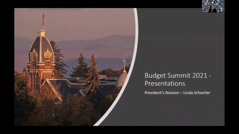 Thumbnail for entry Budget Summit 2021_President's Division