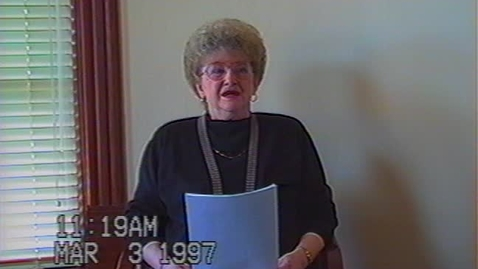 Thumbnail for entry Gloria Craig Video Interview