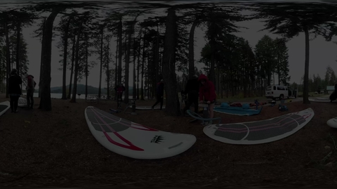 Thumbnail for entry CWU 360 - Paddleboarding