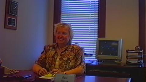 Thumbnail for entry Gail Jones Video Interview, part 1