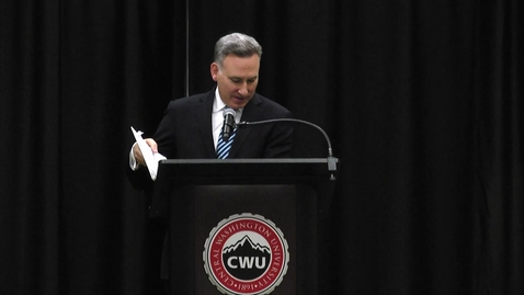 Thumbnail for entry College Civics Week: Local Government Day Keynote - Dow Constantine