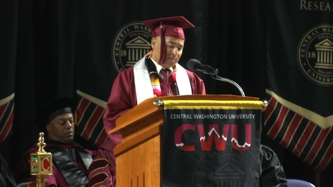 Thumbnail for entry 2018 CWU Kent Commencement Student Speaker Tony Brito