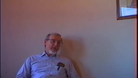 Thumbnail for entry Roy Wilson Video Interview Part 1
