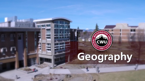 Thumbnail for entry CWU Geography Department