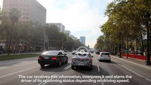 The car that communicates with traffic lights - HD-ENDING