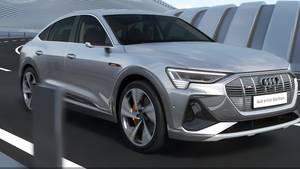 Animation – Audi e-tron Sportback Virtueller Außenspiegel (German)