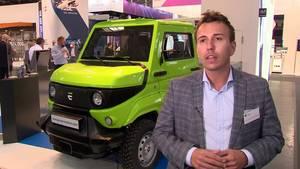 German Start-up Evum Motors @ IAA Mobility 2021