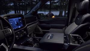 All new F-150 Zone Lighting -  Broll