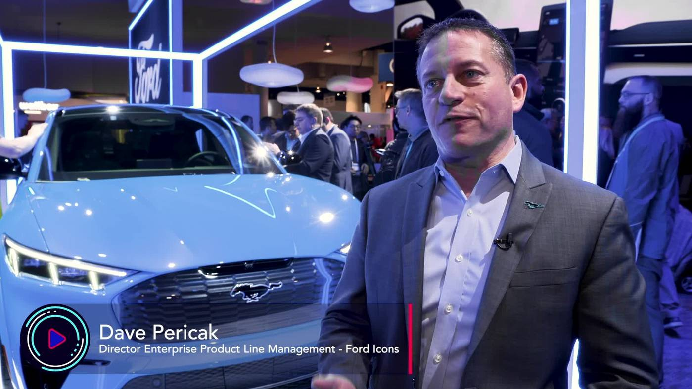 The Electrification of Mustang - Ford Showcases the MachE @ CES