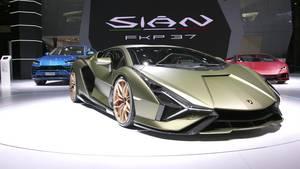 Lamborghini Sián FKP 37 – Beauty Shots (Exteriors)