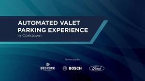 Automated Valet Parking Broll