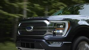 All new F-150 Running - B-Roll