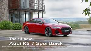 Audi RS7 Trailer UHD DE