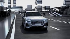 Animation – Audi e-tron Sportback Rekuperation (German)