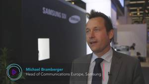 Getting Into the EV Game - Samsung at New Mobility World
