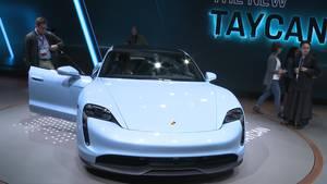 Formula E and the Taycan - Porsche in LA