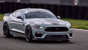 All-New Mustang Mach 1 B-Roll
