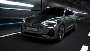 Animation – Audi e-tron Sportback Laden und Thermomanagement (German)