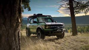 Ford Bronco + Filson Wildland Fire Rig Concept Broll