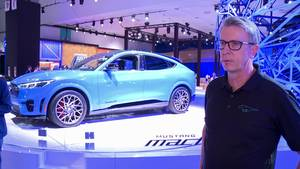 Ford Mustang Mach-E Launches in LA