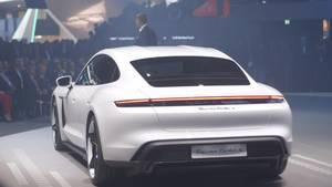 Porsche CEO at IAA Frankfurt on The Luxury Brand's Electric Future