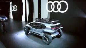 Audi IAA Liverecording - DE