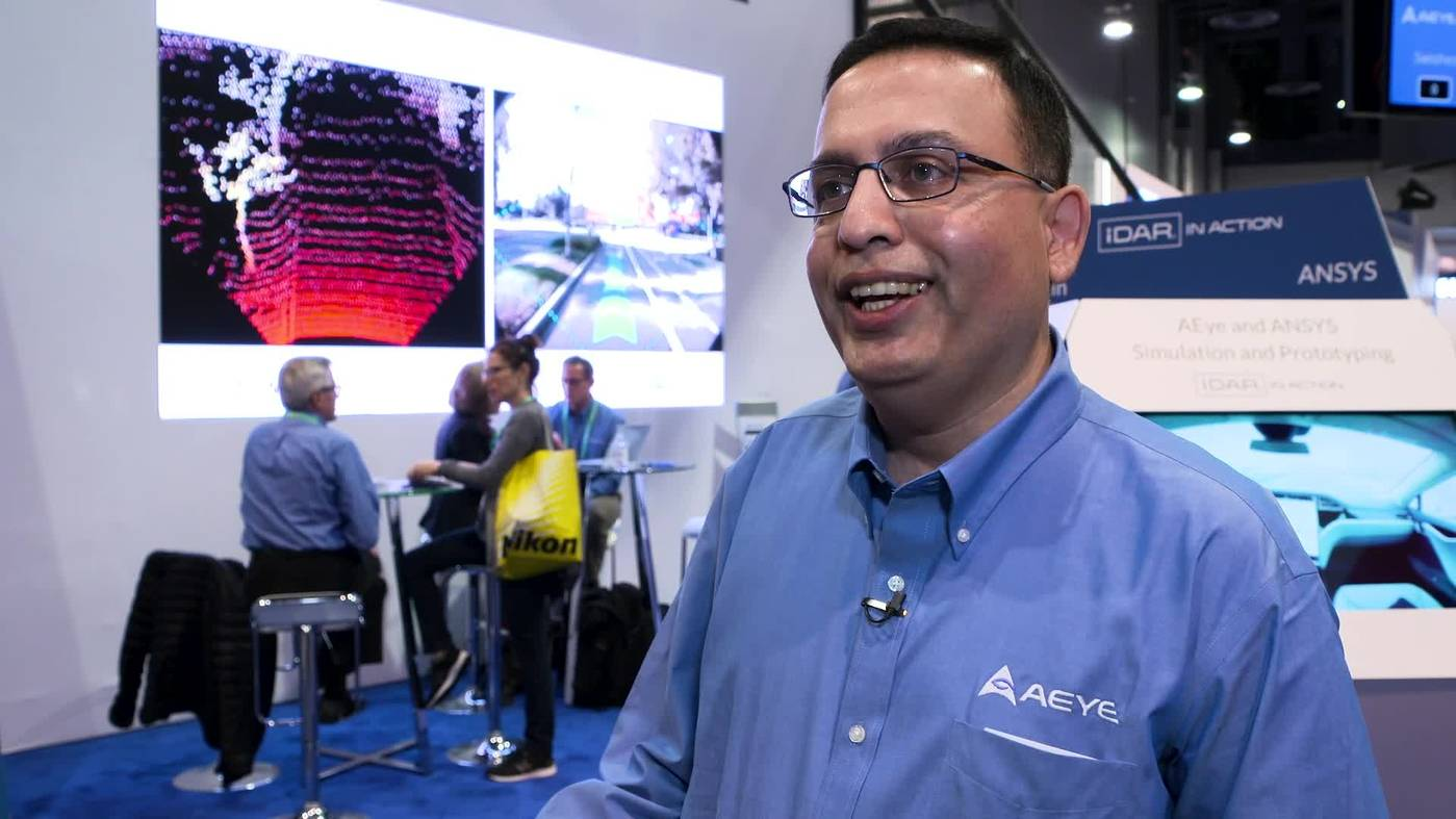 Nothing But Net - AEye Showcases Flexibility of Lidar Systems