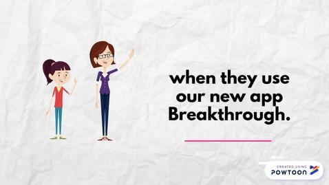 Thumbnail for entry Breakthrough