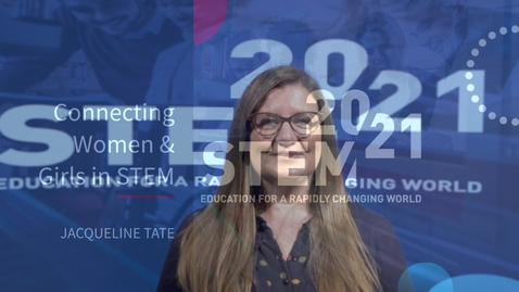 Thumbnail for entry STEM 2021 Keynote - Jacqueline Tate