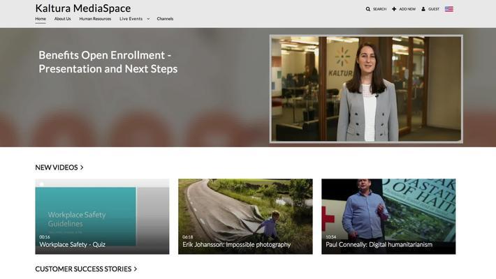 MediaSpace Walkthrough