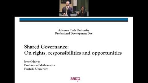 Thumbnail for entry Shared Governance