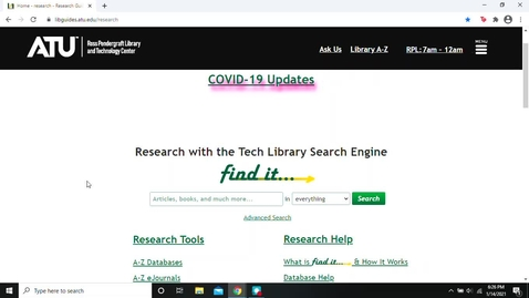 Thumbnail for entry Basic Business Database Searches