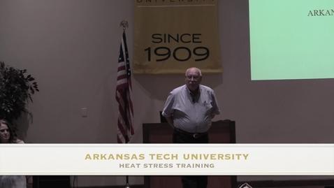 Thumbnail for entry Heat Stress Training 05-10-17