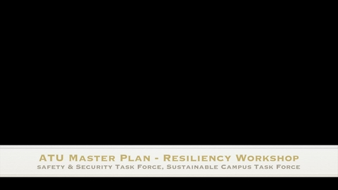 Thumbnail for entry ATU Resiliency Workshop
