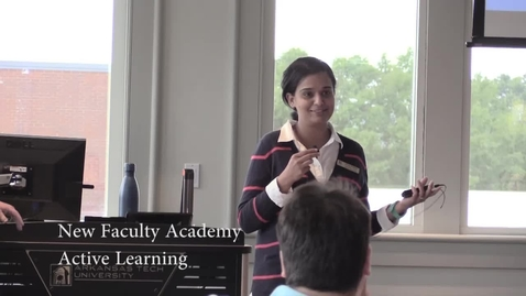 Thumbnail for entry Active Learning