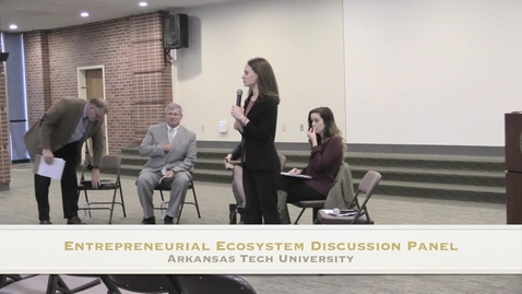 Thumbnail for entry Entrepreneurial Ecosystem Discussion Panel
