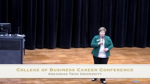 Thumbnail for entry College of Business Career Conference