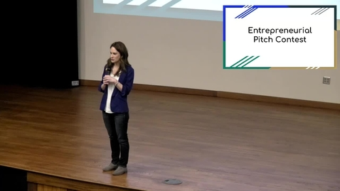 Thumbnail for entry Entrepreneurial Pitch Contest